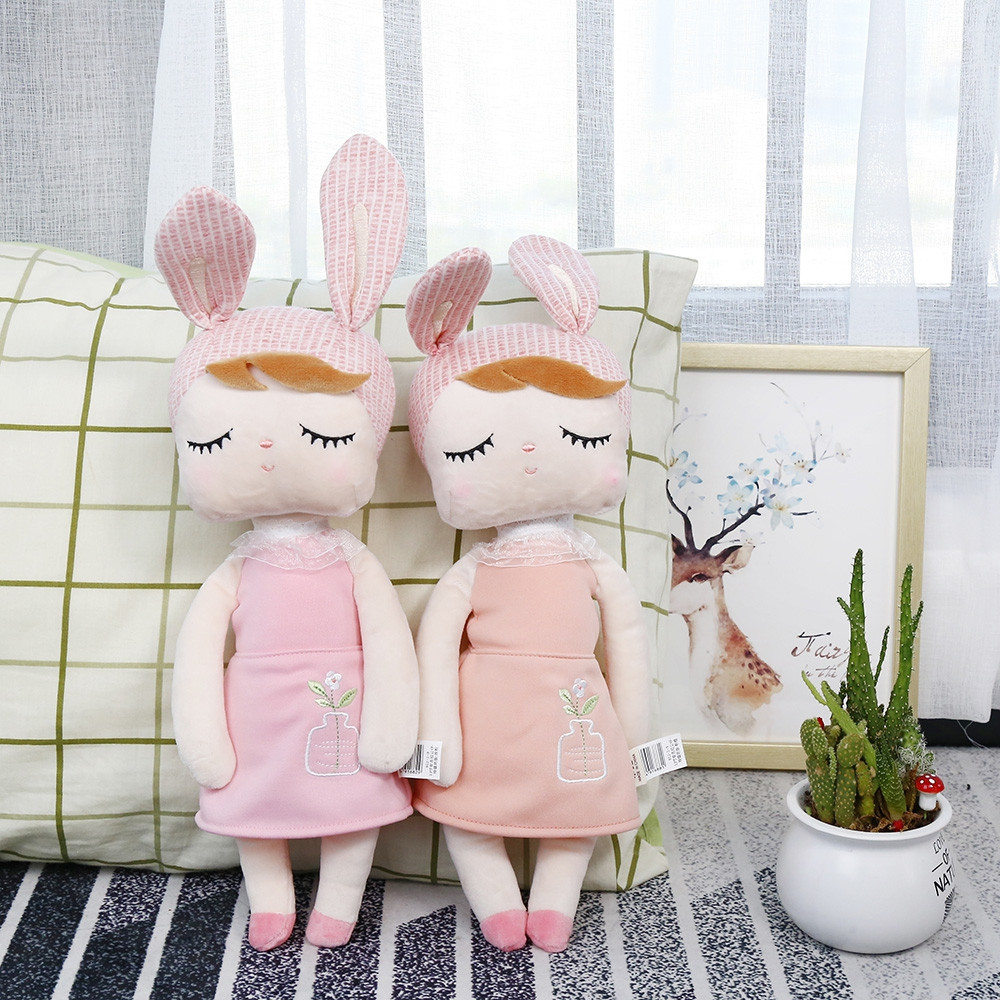 Baby Sleeping Cute Plush Toy Rabbit Doll Children Birthday Gift