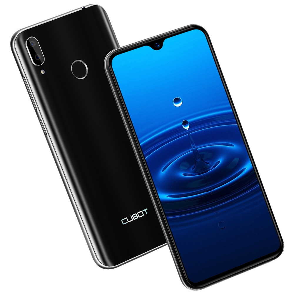 CUBOT R15 3G Phablet 6.26 inch Android 9.0 MT6580P Quad Core 1.3GHz 2GB RAM 16GB ROM 5.0MP Front Camera Fingerprint Sensor 3000mAh Detachable