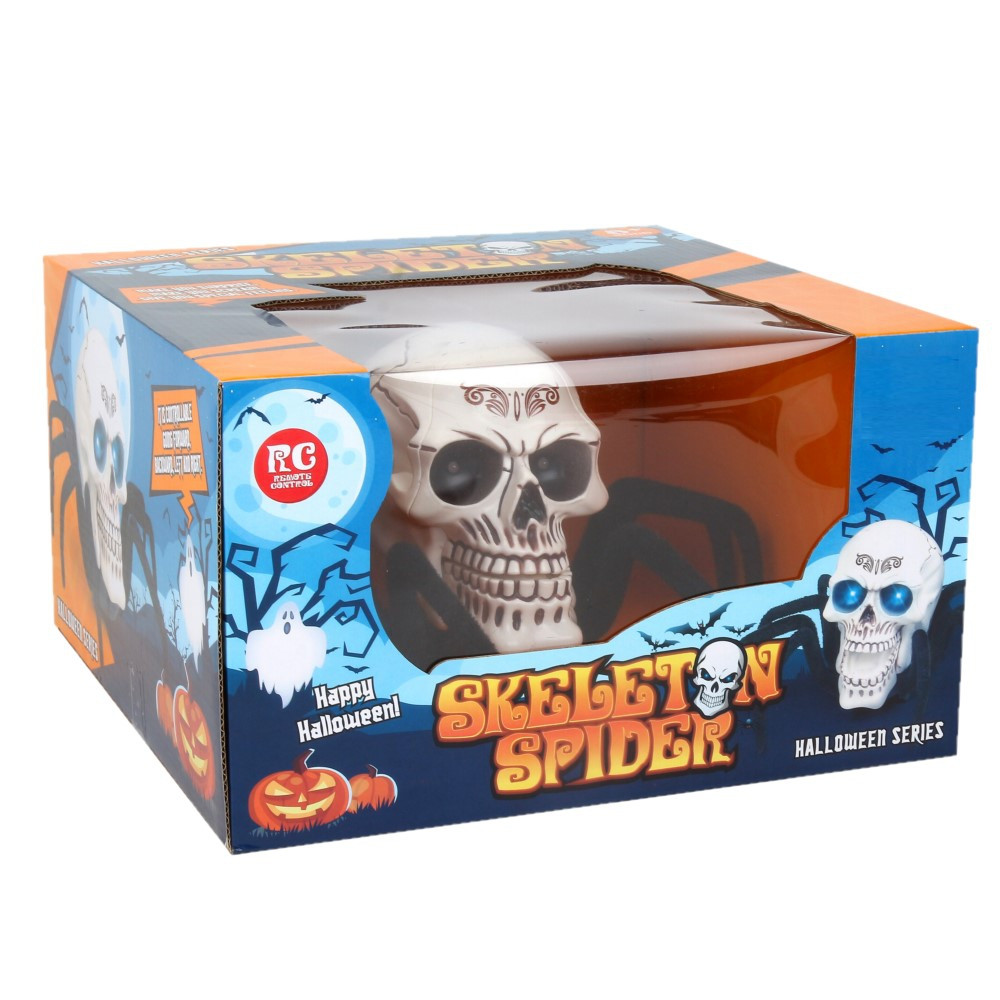 Remote Control RC Skeleton Spider with Scared light on eyes