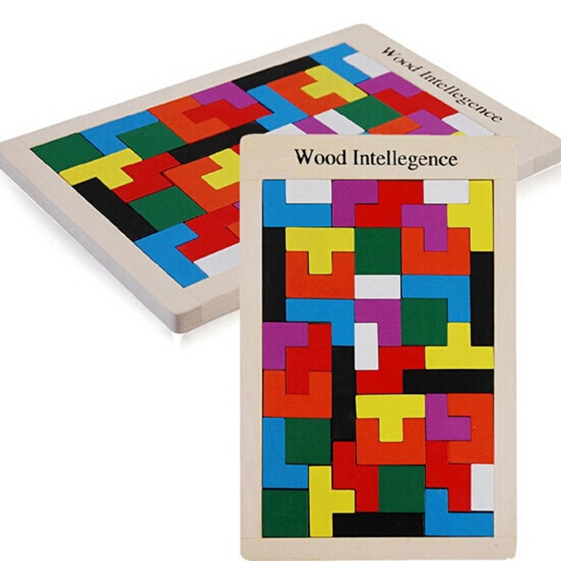 Children Intelligence Building Blocks Wooden Puzzles
