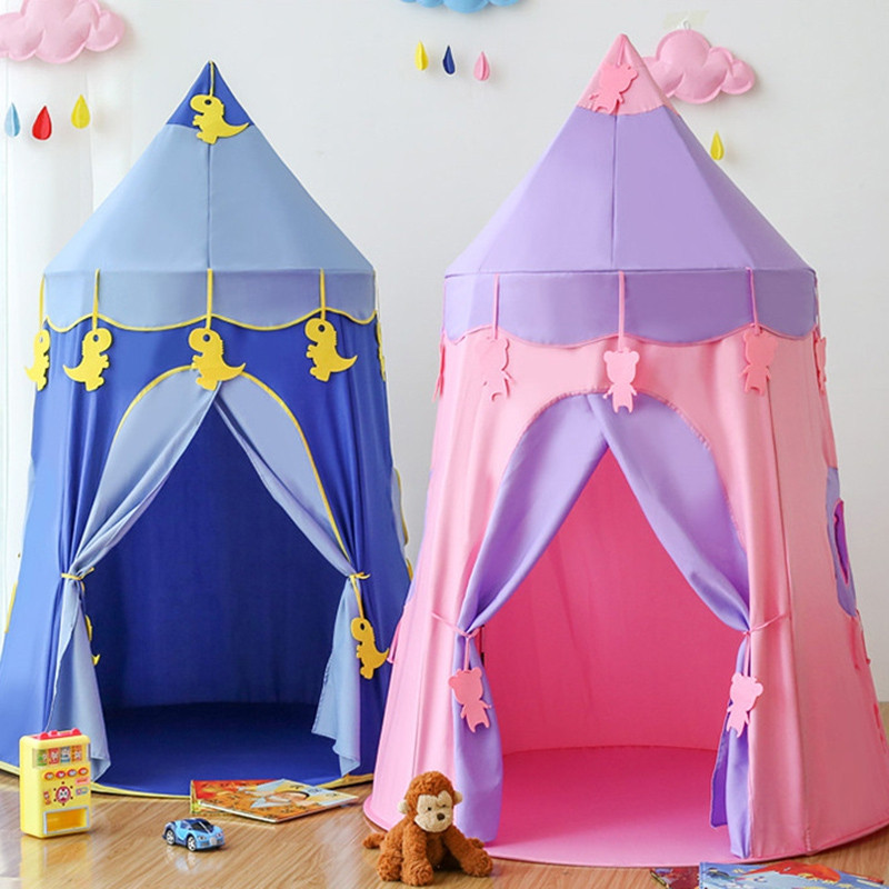 Children Tent Play House Home Princess Girl Indoor Baby Castle