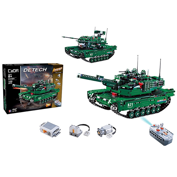 CaDA C61001W Blocks Tank Creative Toy