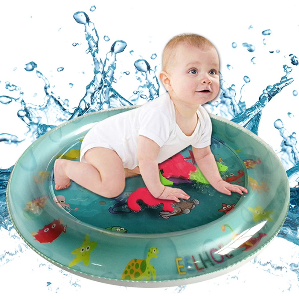 Round Marine Inflatable Water Cushion for Child Baby
