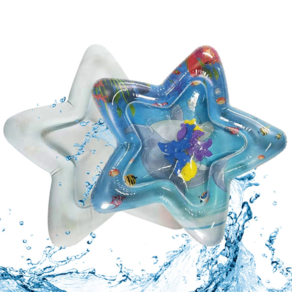 Marine Inflatable Water Cushion Star Shape for Child Baby