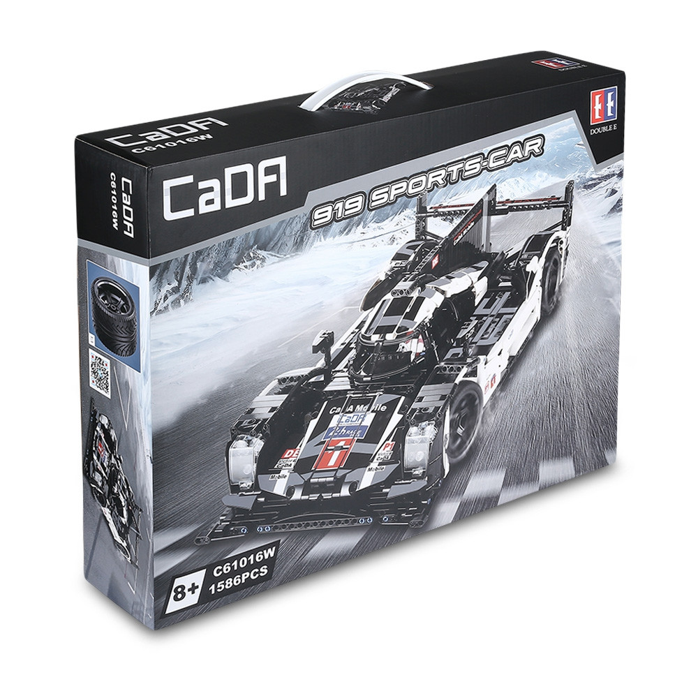 CaDA Stylish Racing Model Assembling Educational Toys