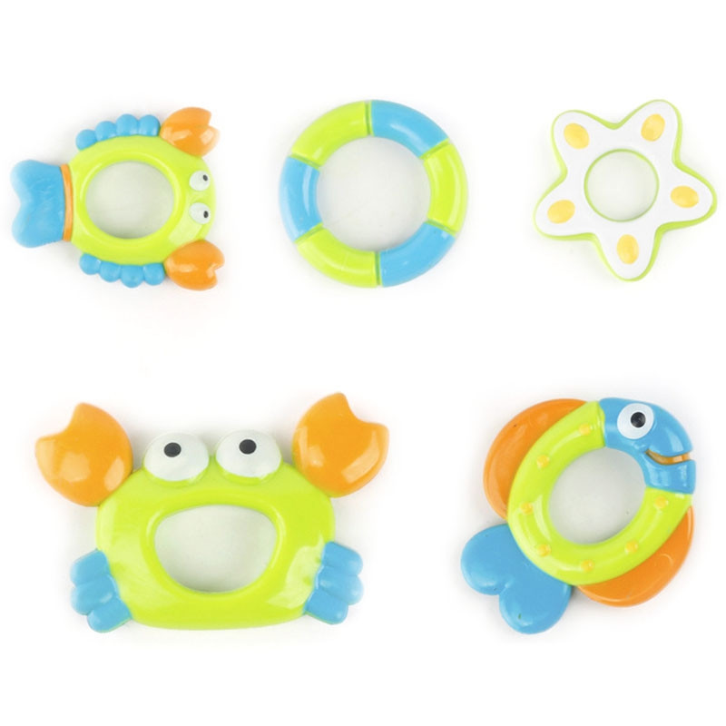 Children Bathing Small Octopus Toy Intelligent Bath Tool