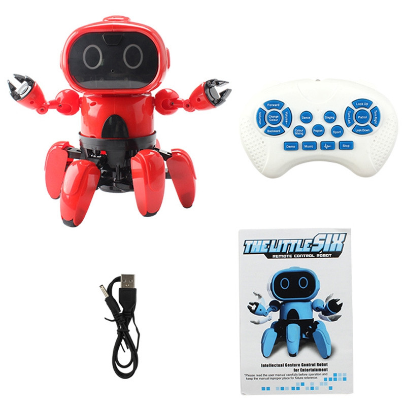 MoFun 991 Intelligent Programming 6-way Remote Control Robot Finish Version