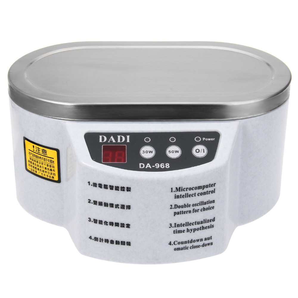30W 50W Mini Ultrasonic Cleaner Bath For Cleaning Jewelry Glasses Circuit Board