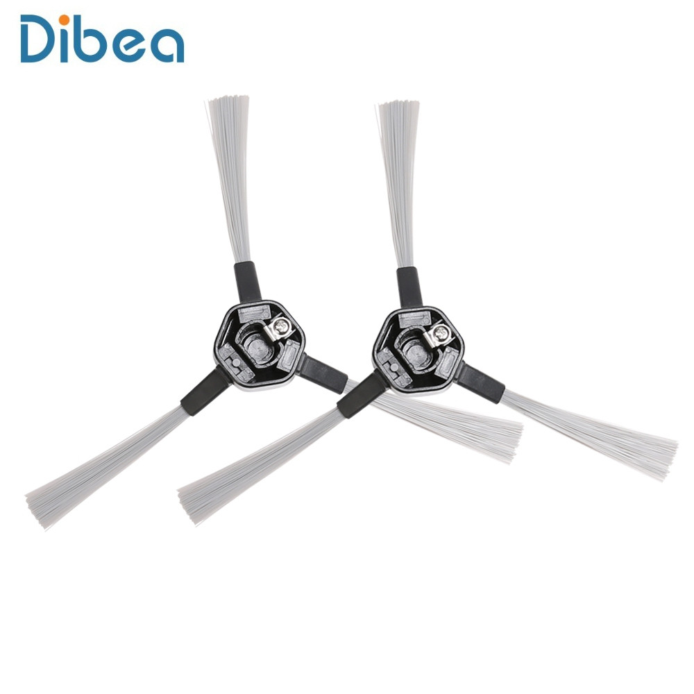 2pcs Side Brushes for Dibea D850 Robotic Vacuum Cleaner
