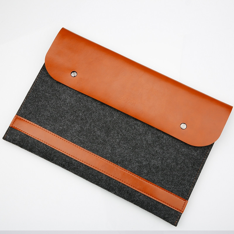 Felt Sleeve Laptop Case Cover Bag