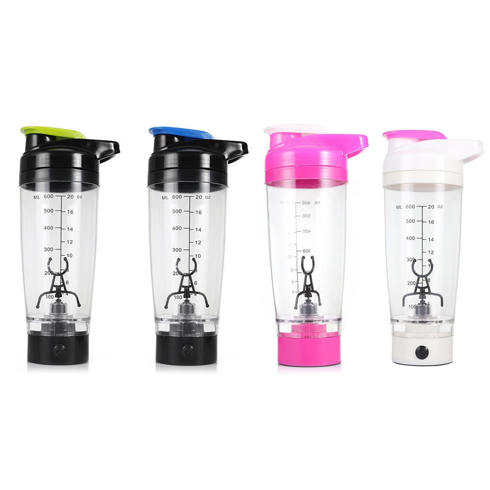 Portable Shaker Bottle Automatic Mixing Cup 600ml