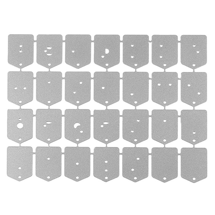 English Alphabet Letter Metal Cutting Dies Stencil for DIY Scrapbooking Photo Album Paper Cards Decorative Crafts Making