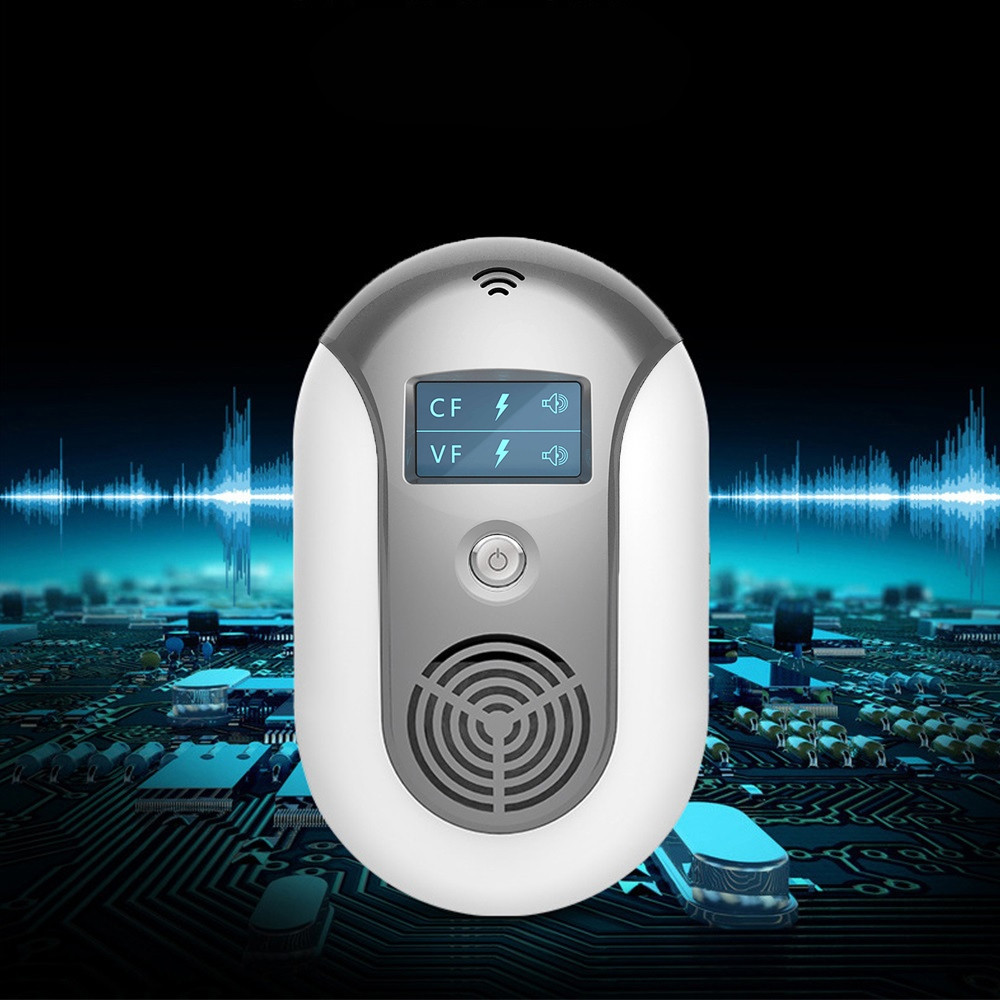 Haojiashu Ultrasonic Pest Repeller Mouse Mosquito Repellent Equipment