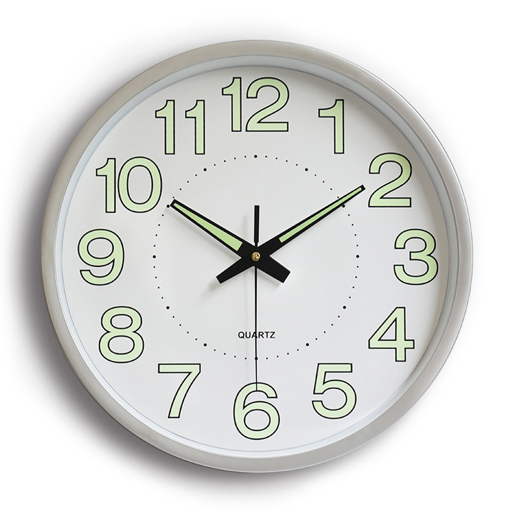 12 inch Luminous Wall Quartz Clock Home Decorations