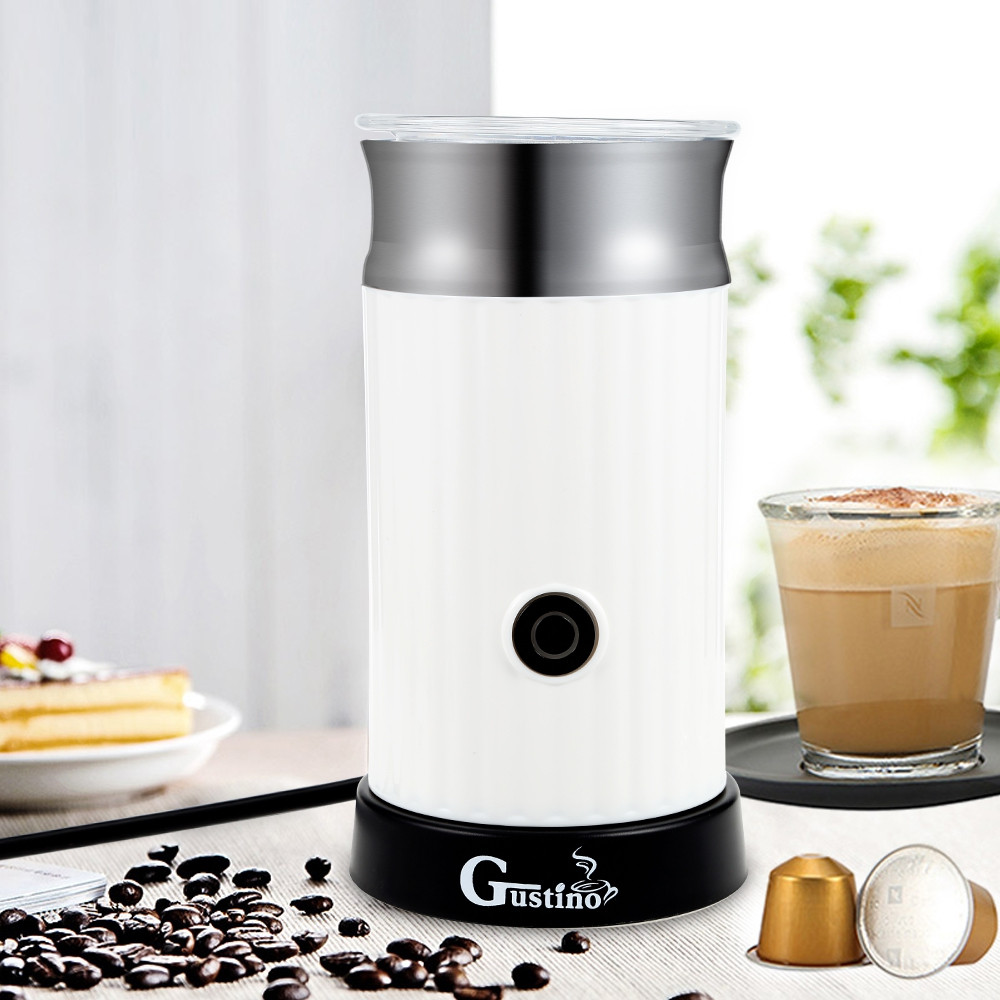 Gustino Automatic Electric Milk Foamer Machine Coffee Maker