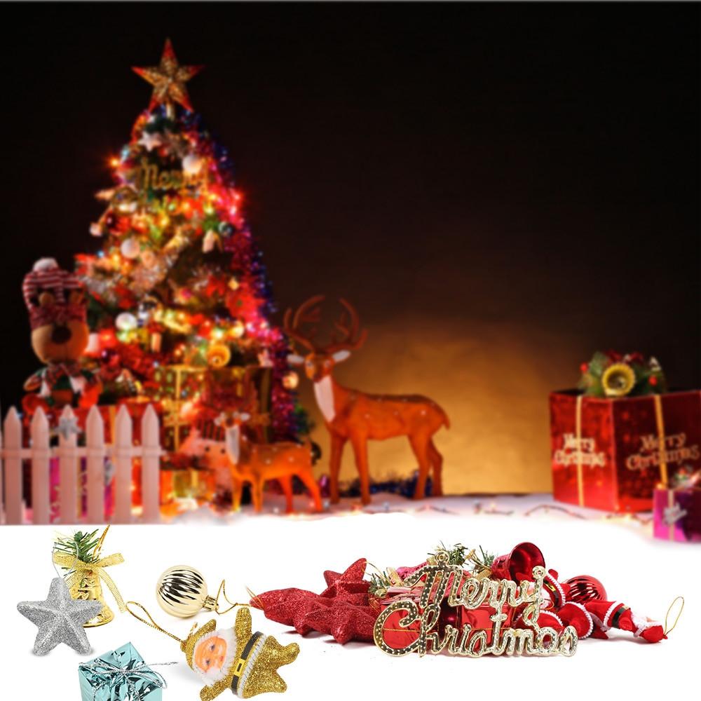 28-in-1 Christmas Decoration Pendant Suit
