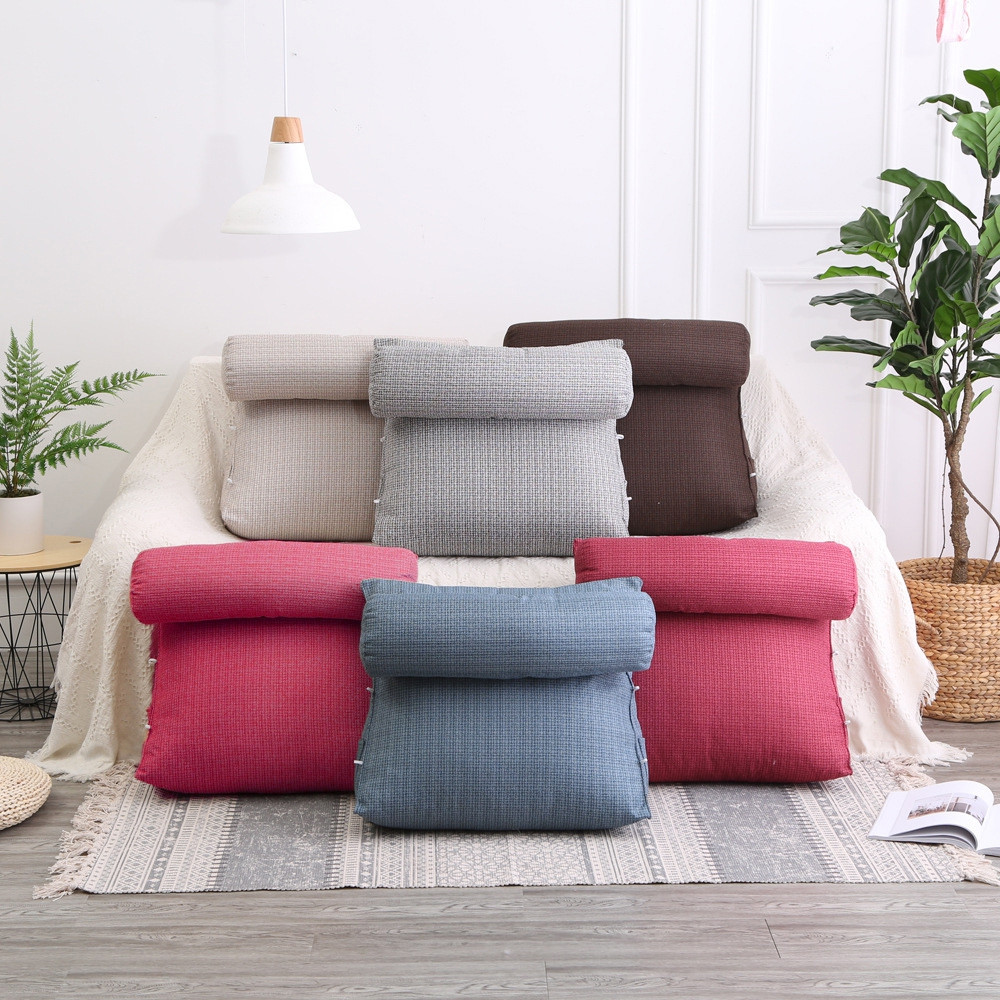 Multifunctional Sofa Throw Pillow Soft Lumbar Cushion