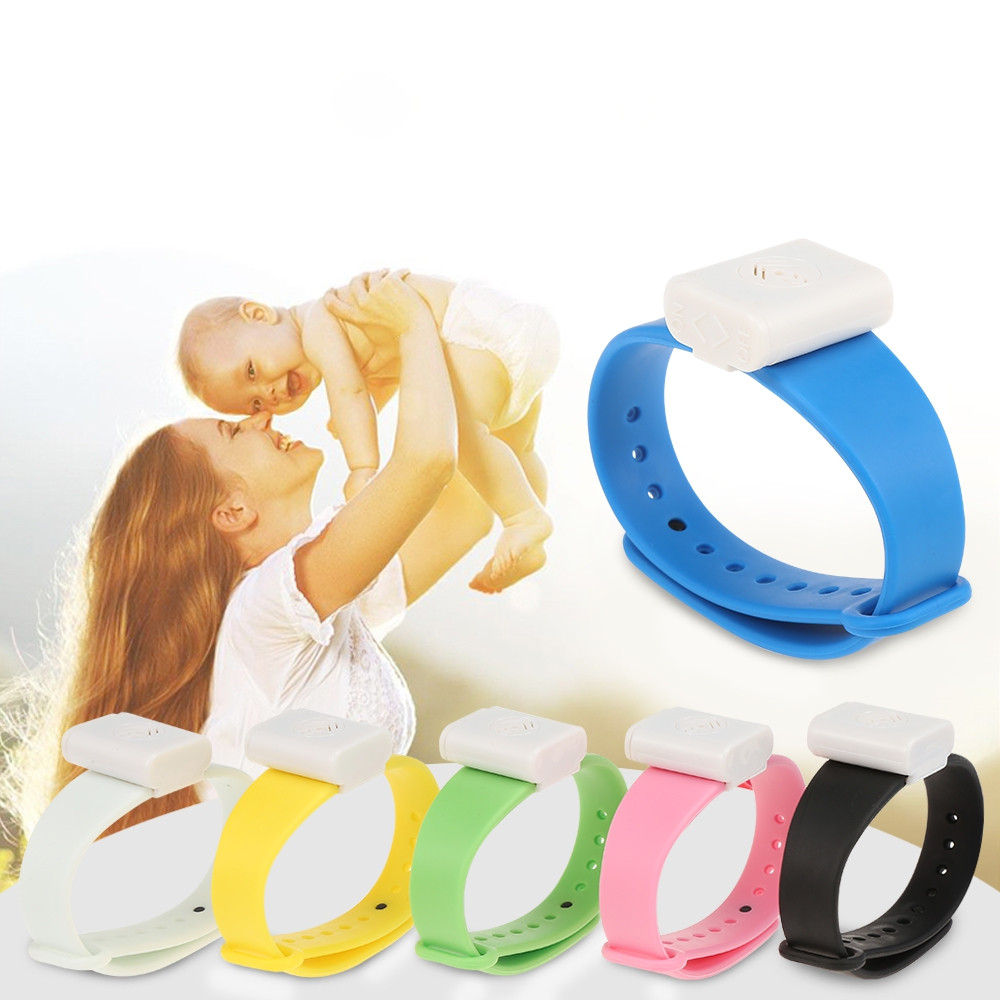 Electronic Mosquito Repellent Bracelet for Kids Adults
