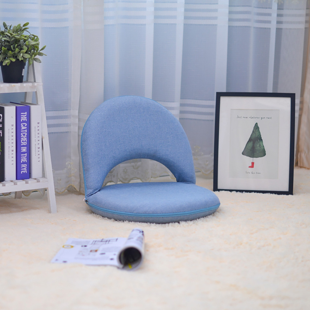 Creative Adjustable Lazy Sofa Folding Chair Cushion