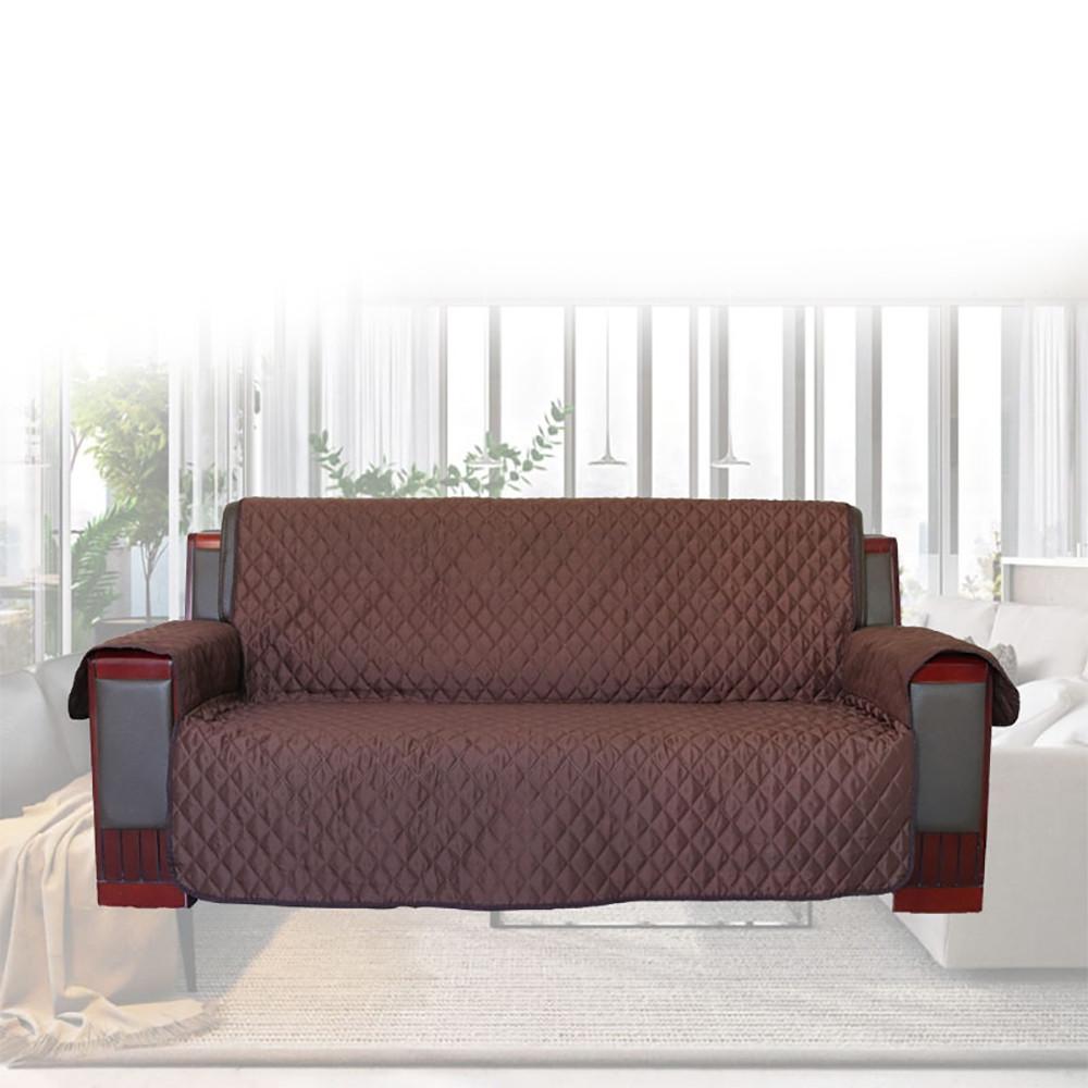 Anti-skid Three-seat Sofa Cushion Protective Cover Pet Kids Mat