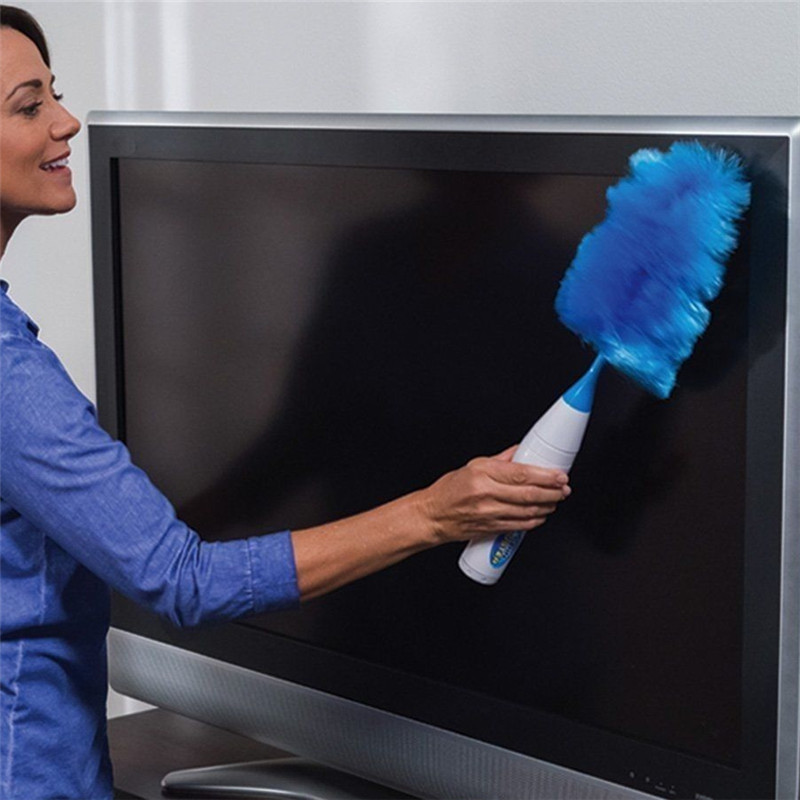 Hurricane Spin Duster Electric Feather Duster