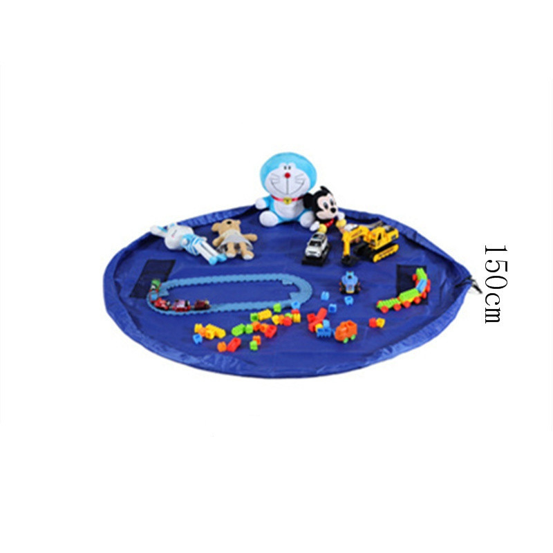 150cm Diameter Round Toy Storage Bag Beam Eco-friendly Picnic Mat