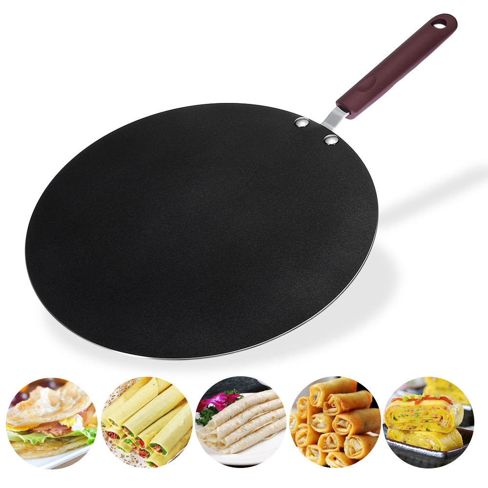 Aluminum Alloy Copper Frying Pan Non-stick Flat Griddle