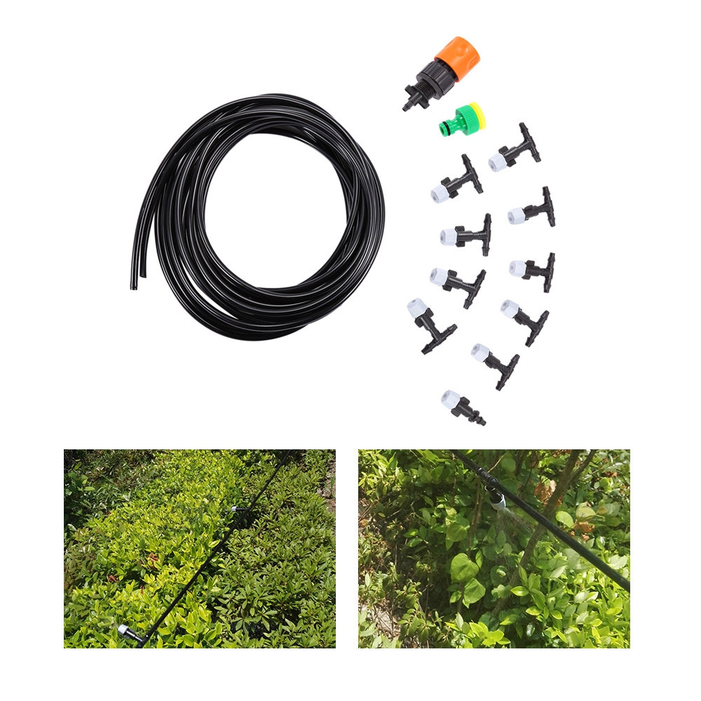 Fog Nozzles Watering Irrigation System Kit