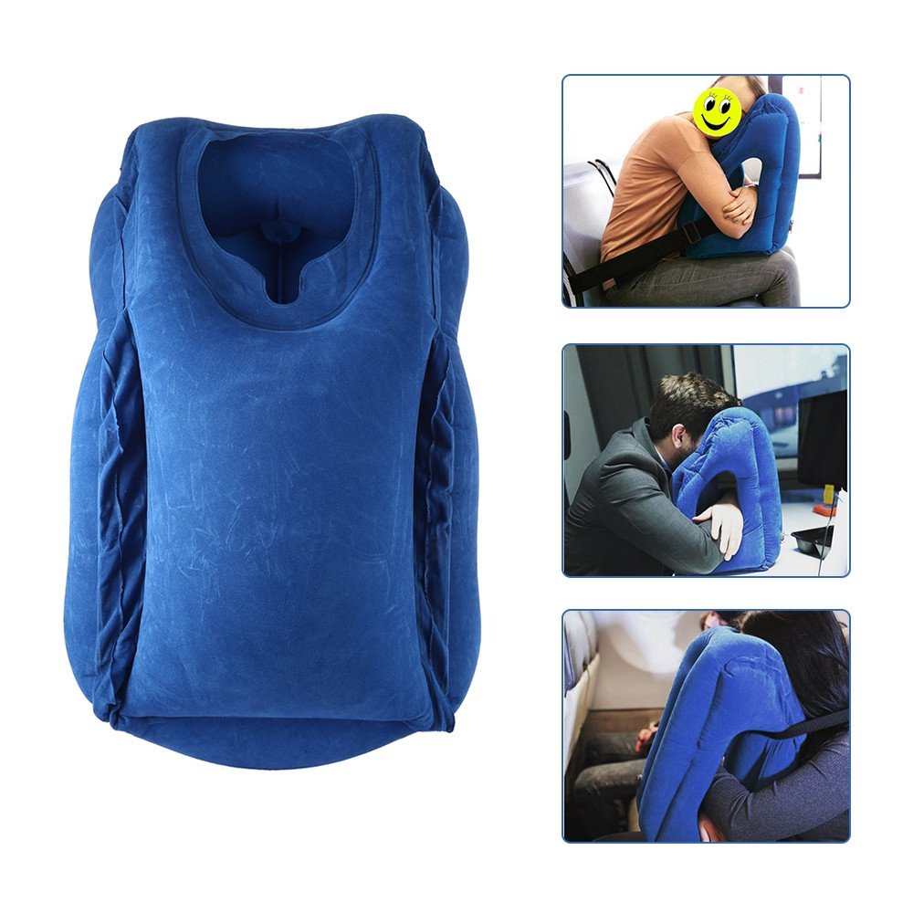Inflatable Office Noon Break Neck Pillow
