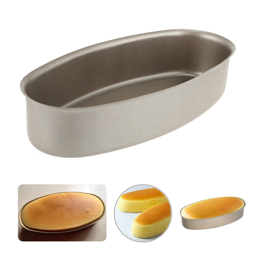Carbon Steel Oval Shape Cheese Cake Mold
