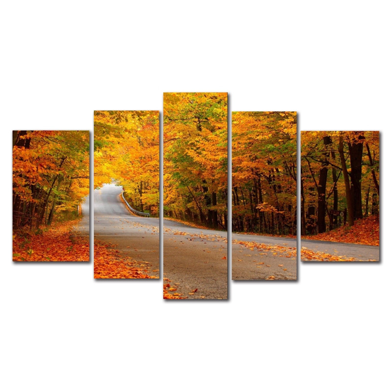 DYC 10084 5PCS Landscape Canvas  Print Art