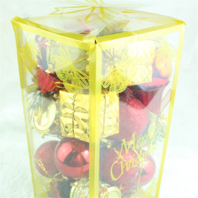 32PCS 4CM Christmas Ball Bell Christmas Tree Decorated