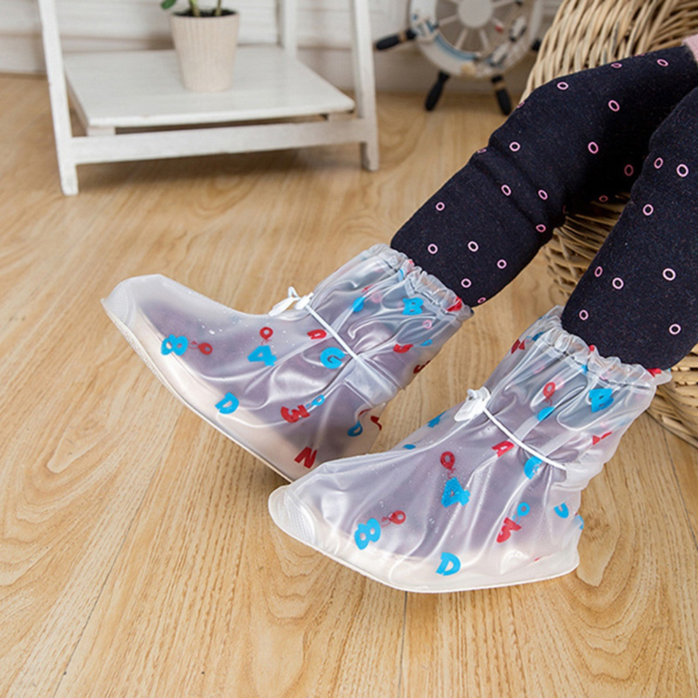 Waterproof Shoe Covers Digital Model for Kids