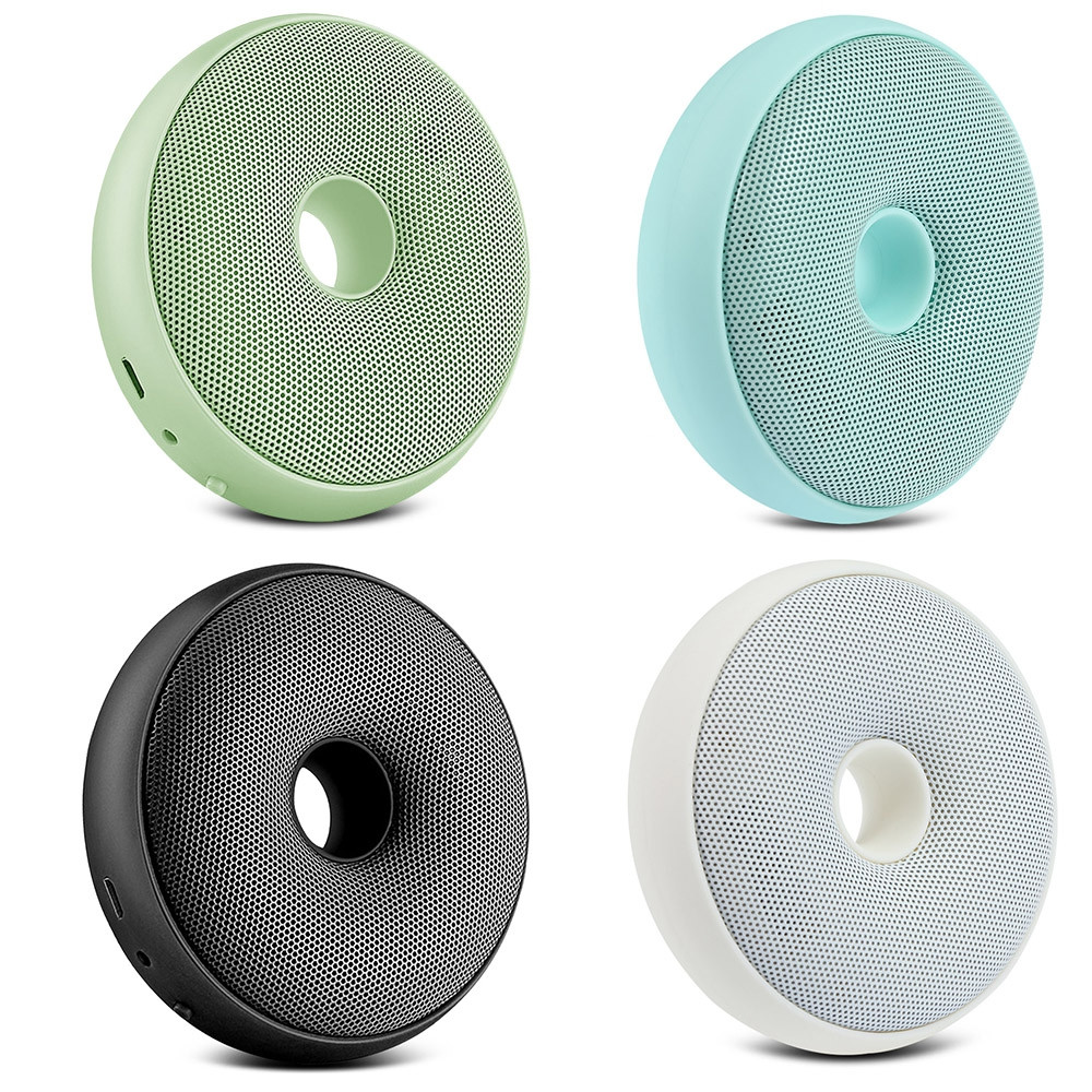 CARZOR Portable Donut-shaped Air Purifier Germicidal Electric Deodorizer