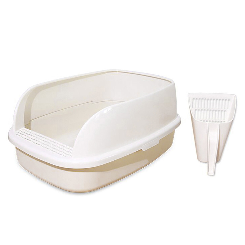 Anti Splash Semi-closed Cat Litter Box