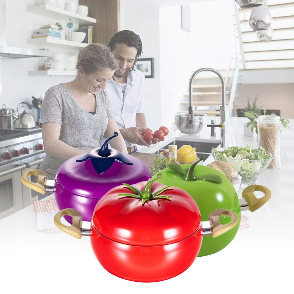 Kitchen Soup Pot Fruit Non-stick Sauce Pan