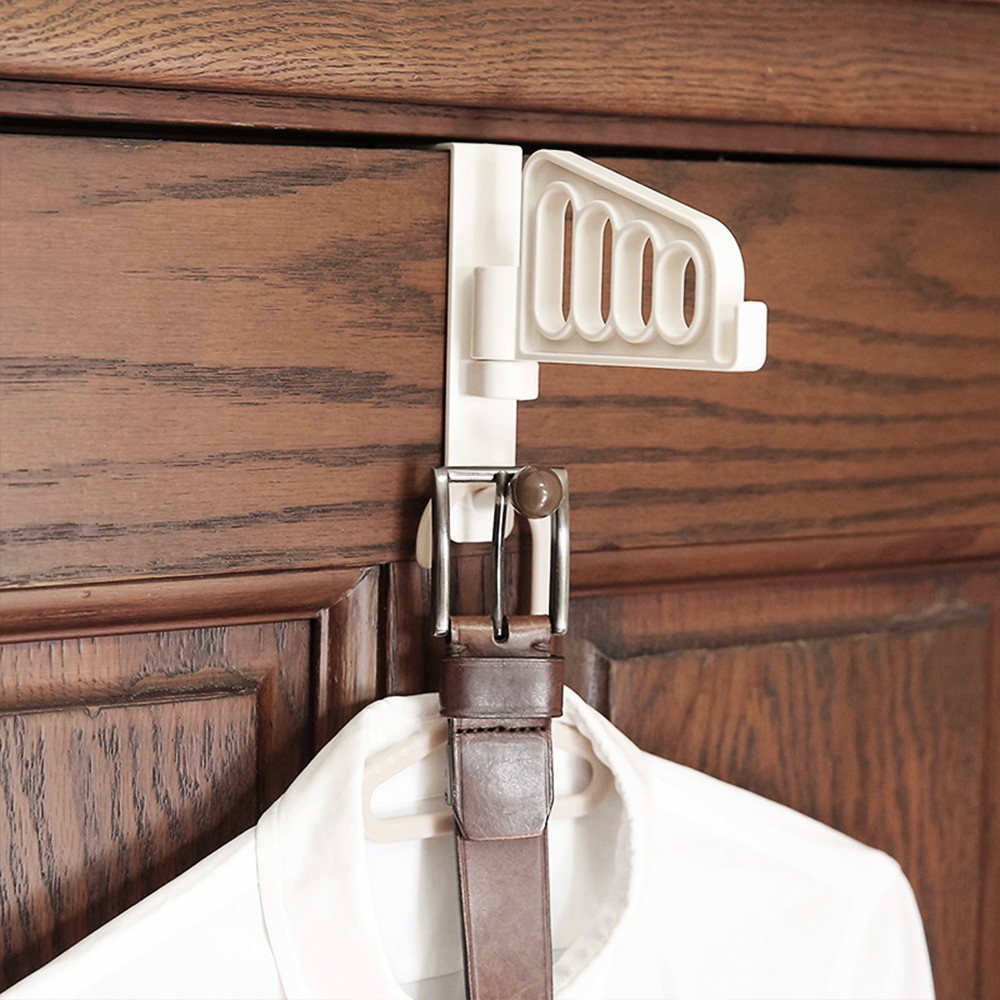 Creative Door Hanger Clothes Hook Rack Storage Holder