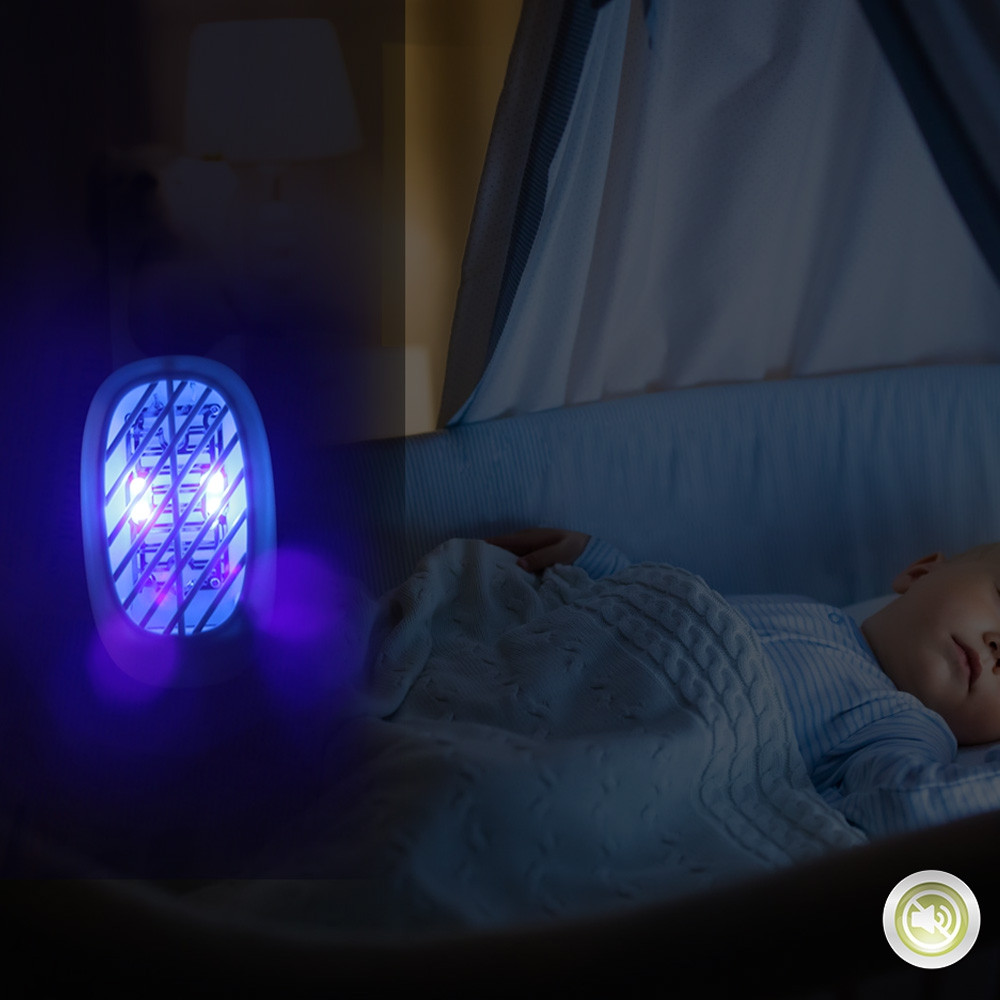 Indoor Plug-in Mosquito Killer with UV Light for Killing Small Flying Gnats