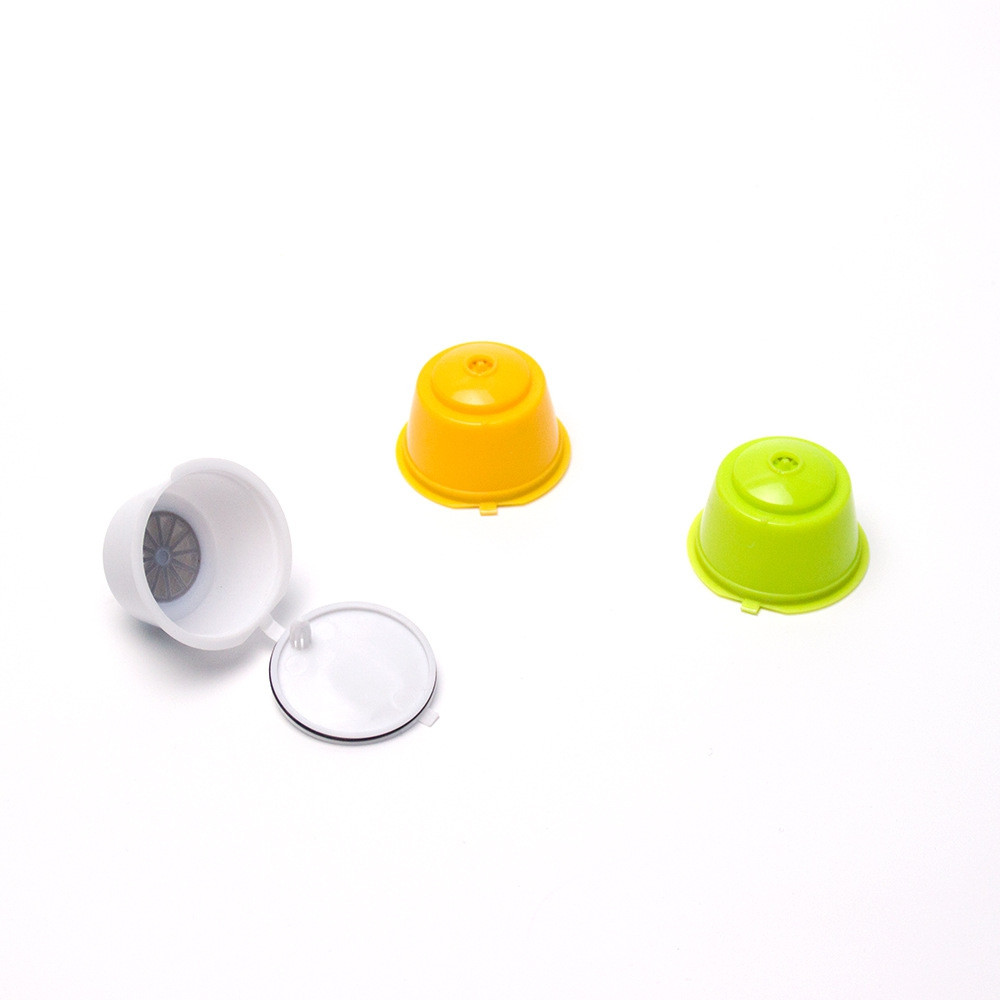 3pcs Reusable Coffee Capsule Cup for Filtering