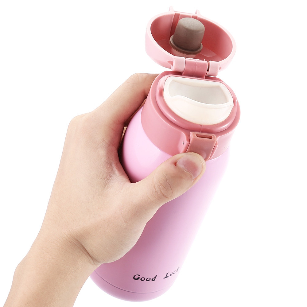 360ML Stainless Steel Children Adults Thermal Bottle