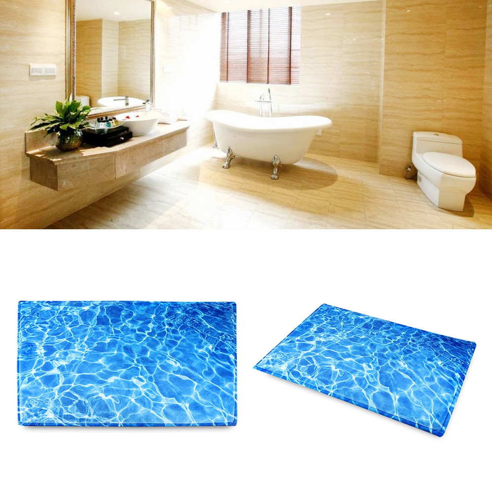 Non-Slip Carpet Ground Mat for Living Room Bathroom
