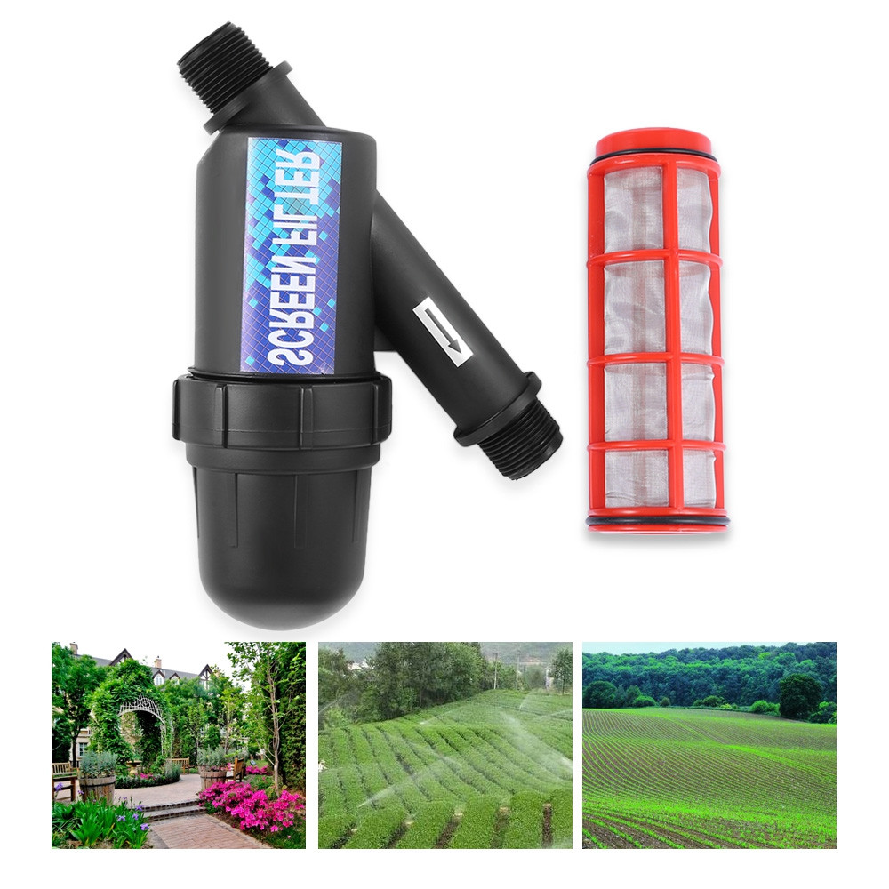 3 / 4 inch Screen Irrigation Filter Stainless Steel Mesh Pump