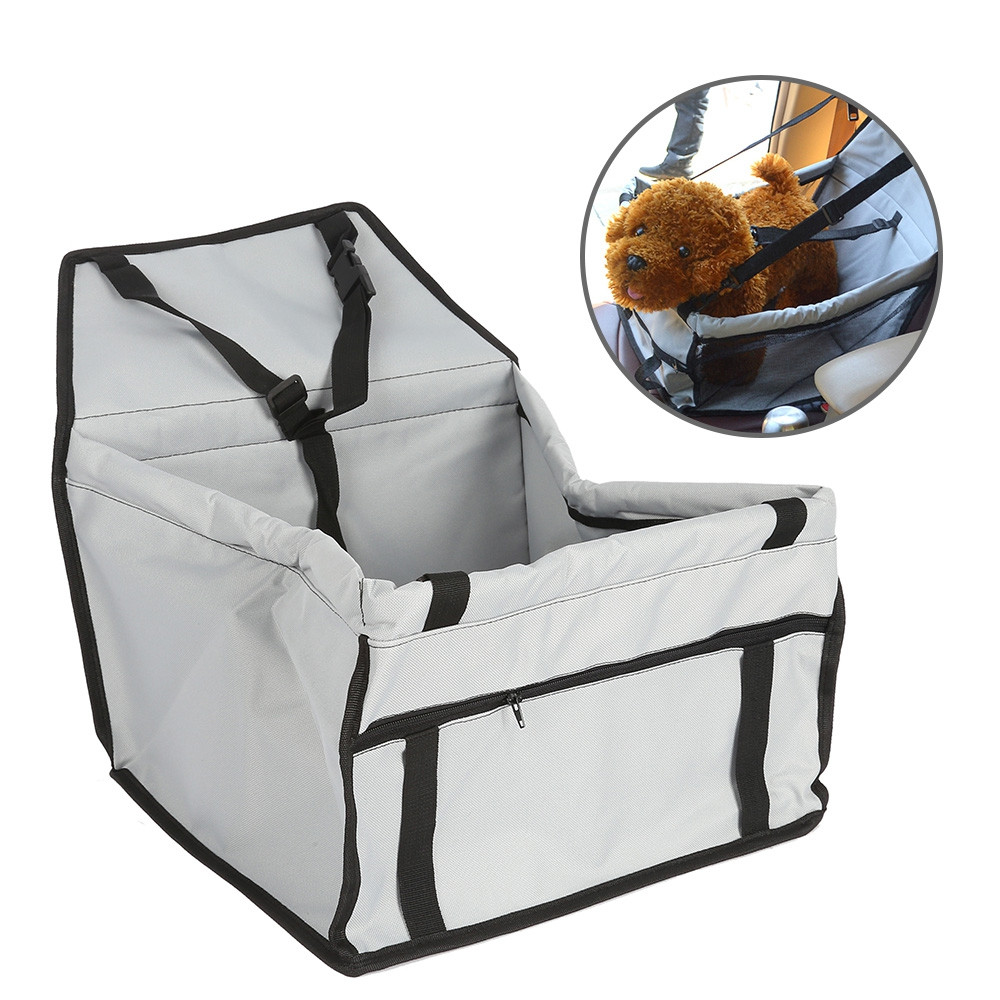 Double-deck Waterproof Portable Pet Dog Car Carry Bag