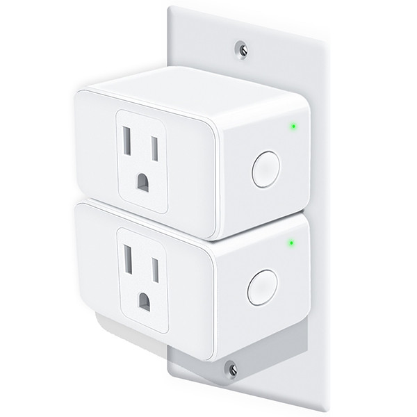 Meross Practical Smart WiFi Plug Mini 2PCS