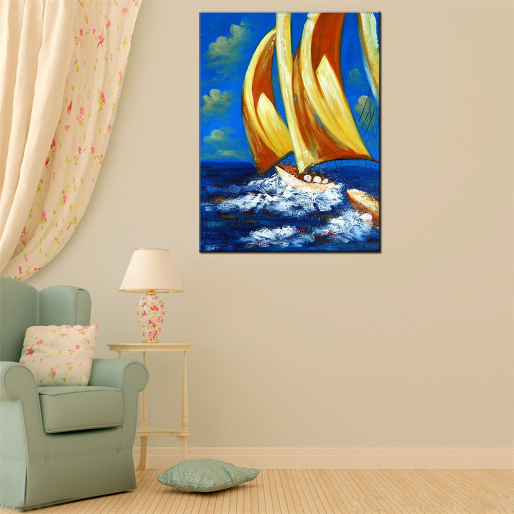 Hua Tuo Sailing Oil Painting 60 x 90cm OSR-160306