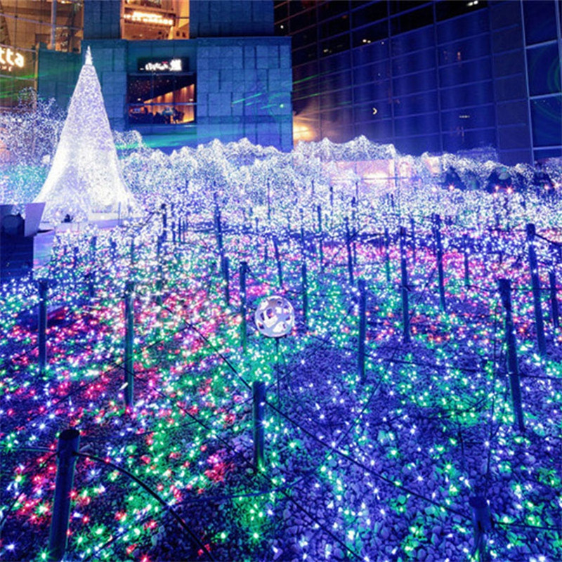 10 Meters 100 LED Christmas Sky Stars Waterproof Flash String Light