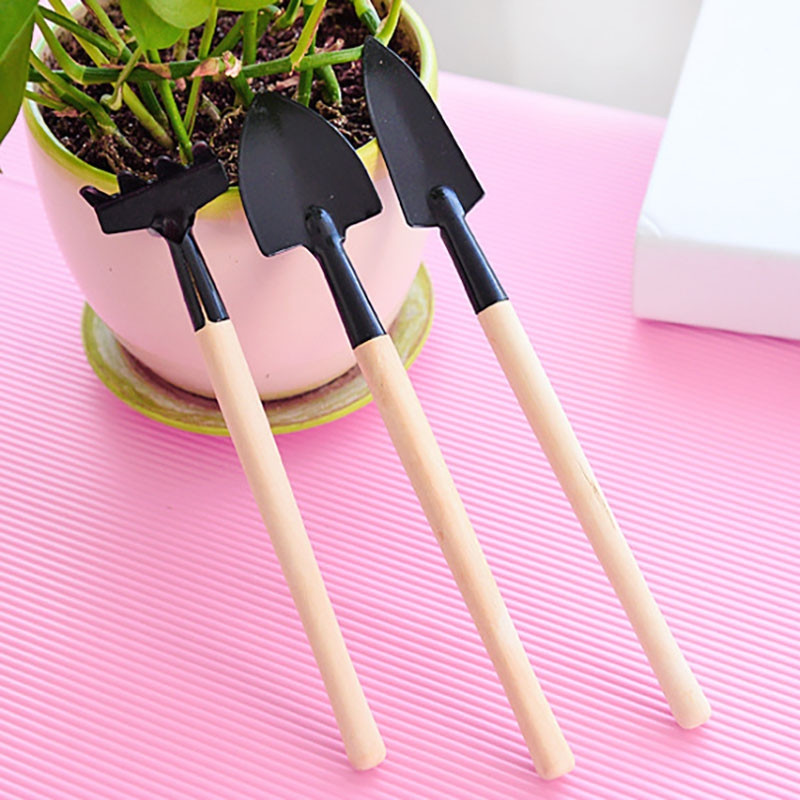 DIHE Break Shovel Plant Tiny Gardening Tool Potted Shovel Mini 3PCS