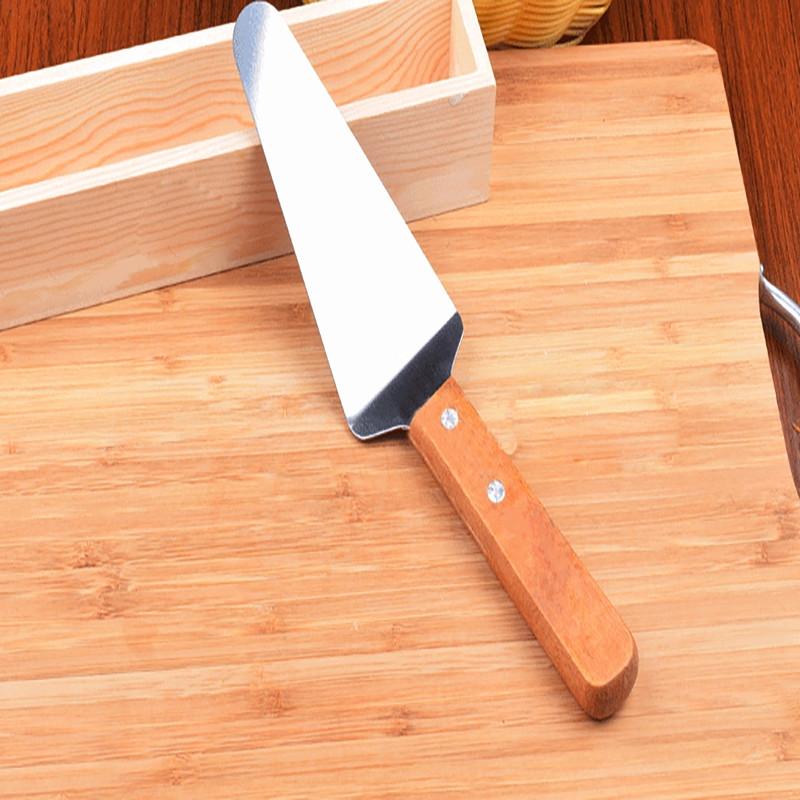 DIHE Stainless Steel Pizza Knife Cake Shovel Good Corrosion Resistance