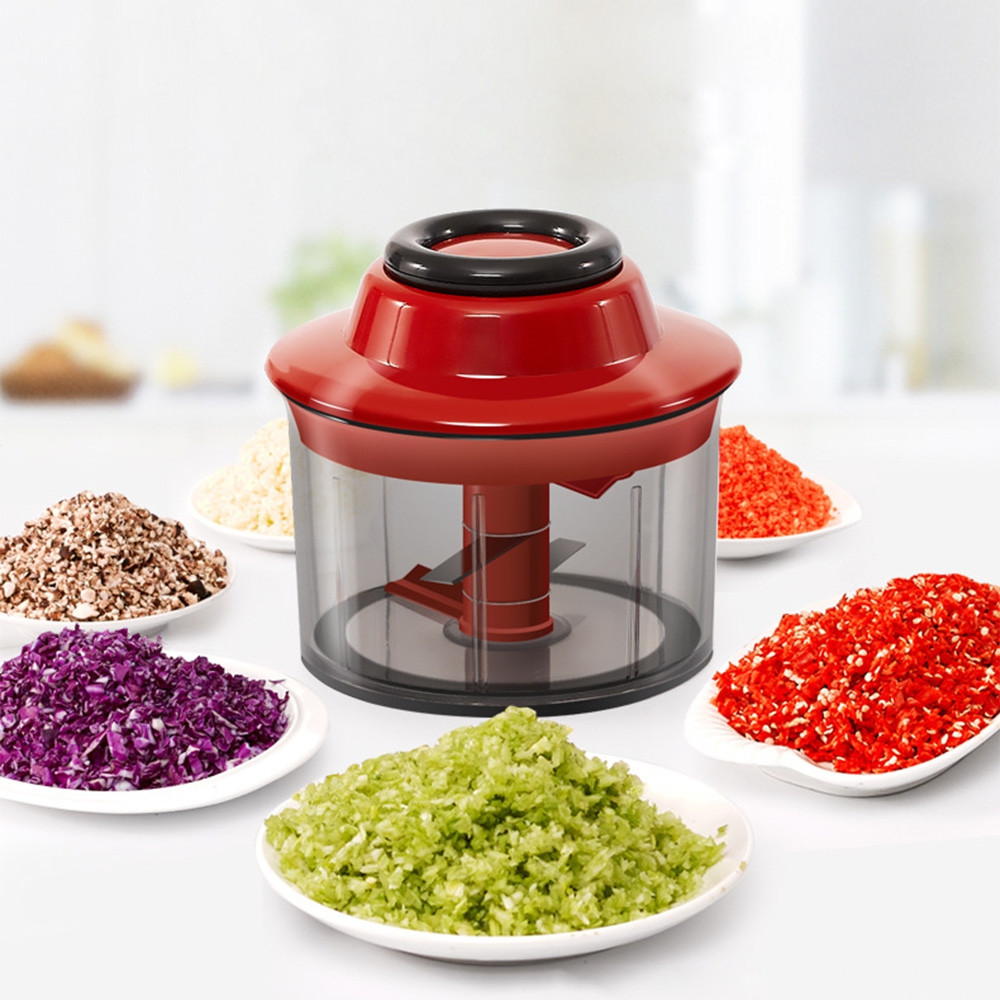 Household Manual Vegetable Garlic Crusher Cutter