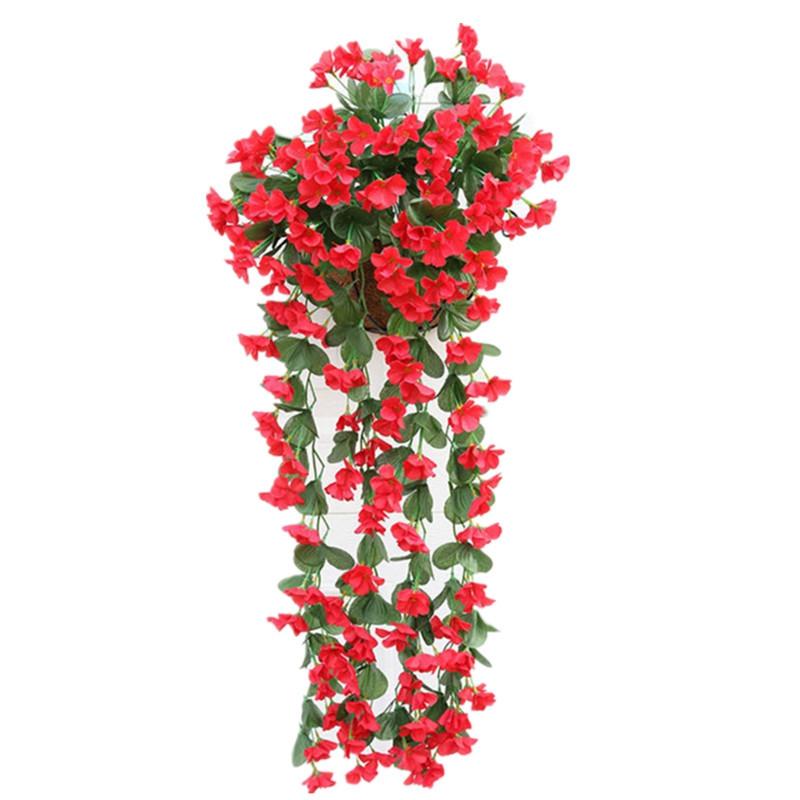 1 Bouquet Wall Flower Hydrangea Gillyflower Home Decoration Artificial Flower
